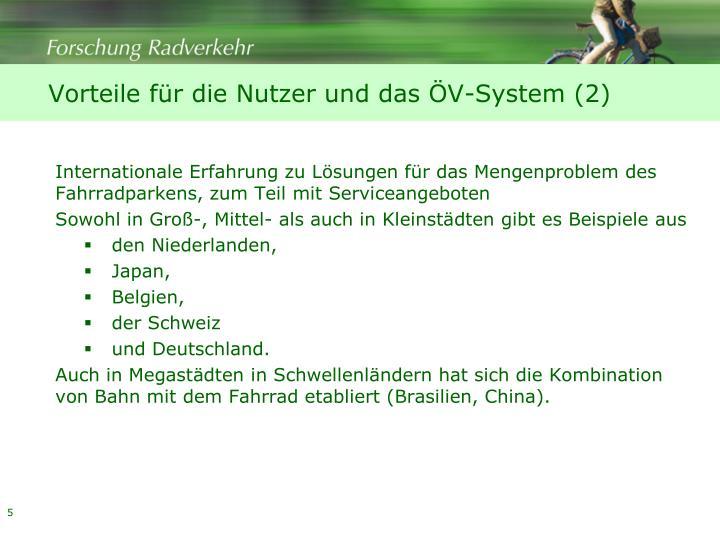 Vorteile für die Nutzer und das ÖV-System (2)