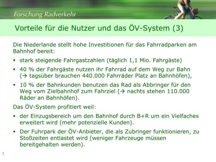 Vorteile für die Nutzer und das ÖV-System (3)