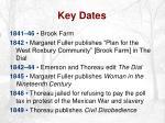 key dates4