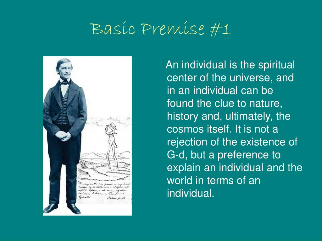 Basic Premise #1