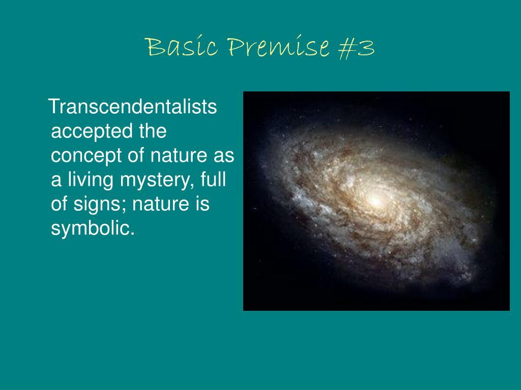 Basic Premise #3