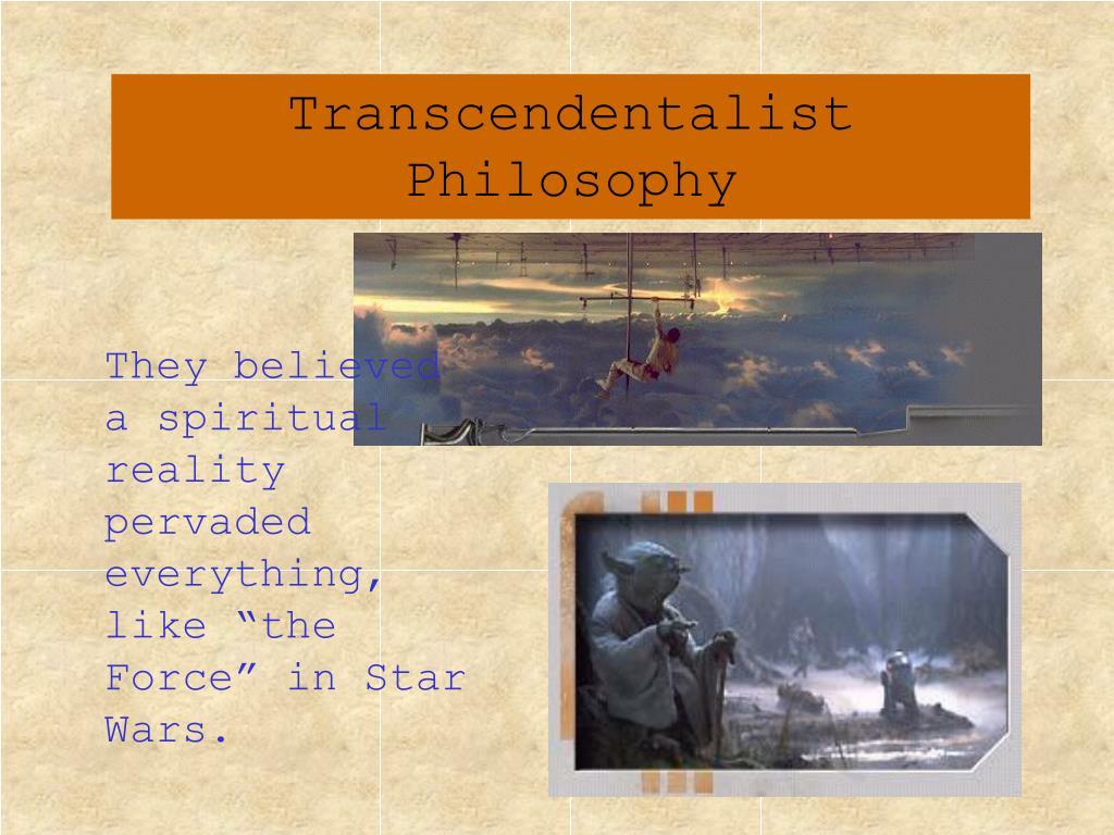 Transcendentalist Philosophy