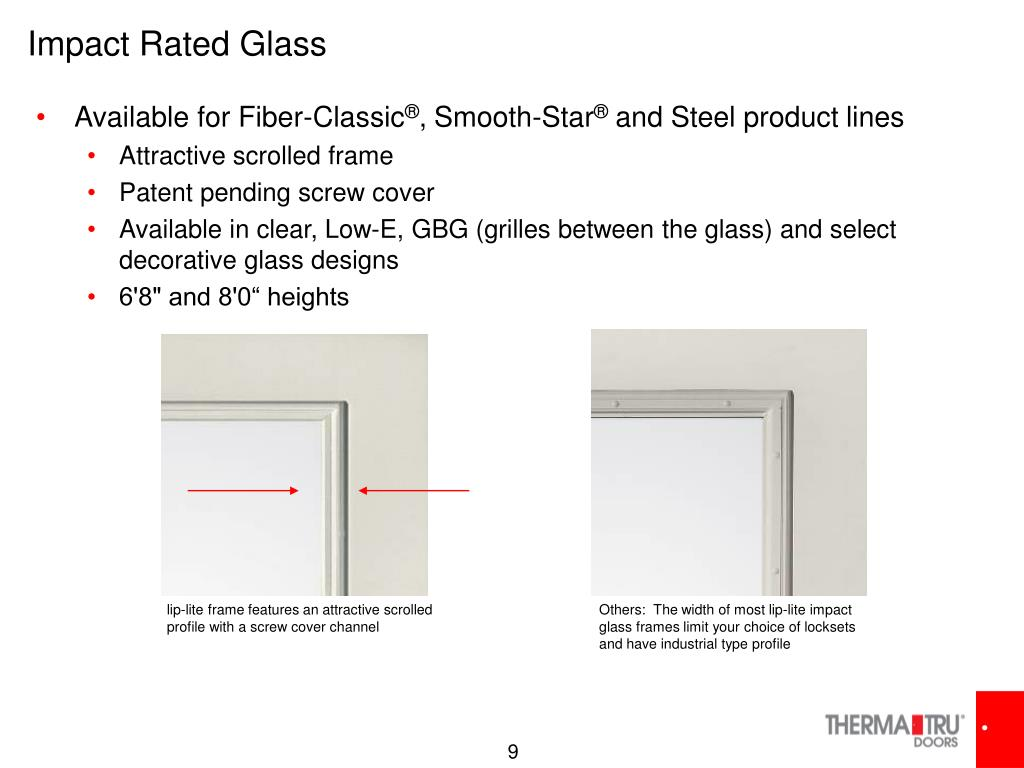 Impact Rated Glass