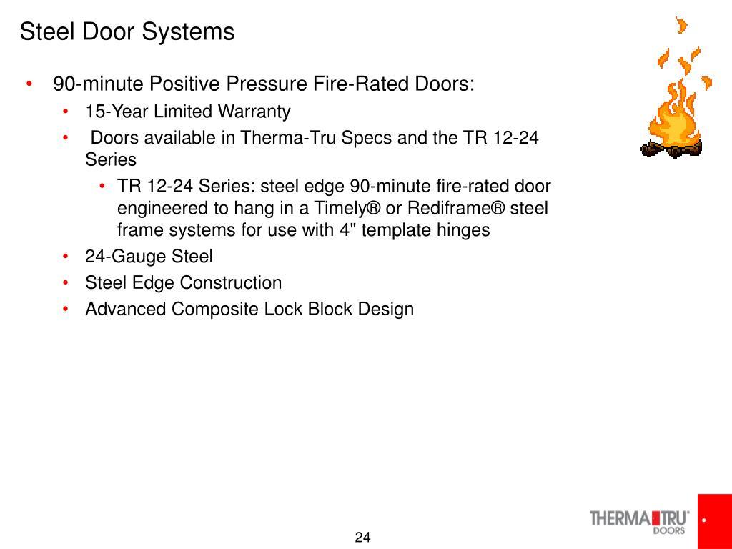 Steel Door Systems