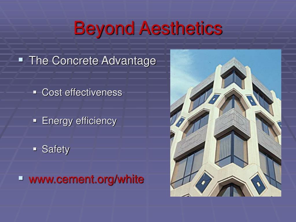 Beyond Aesthetics