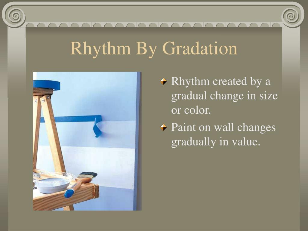 Rhythm By Gradation