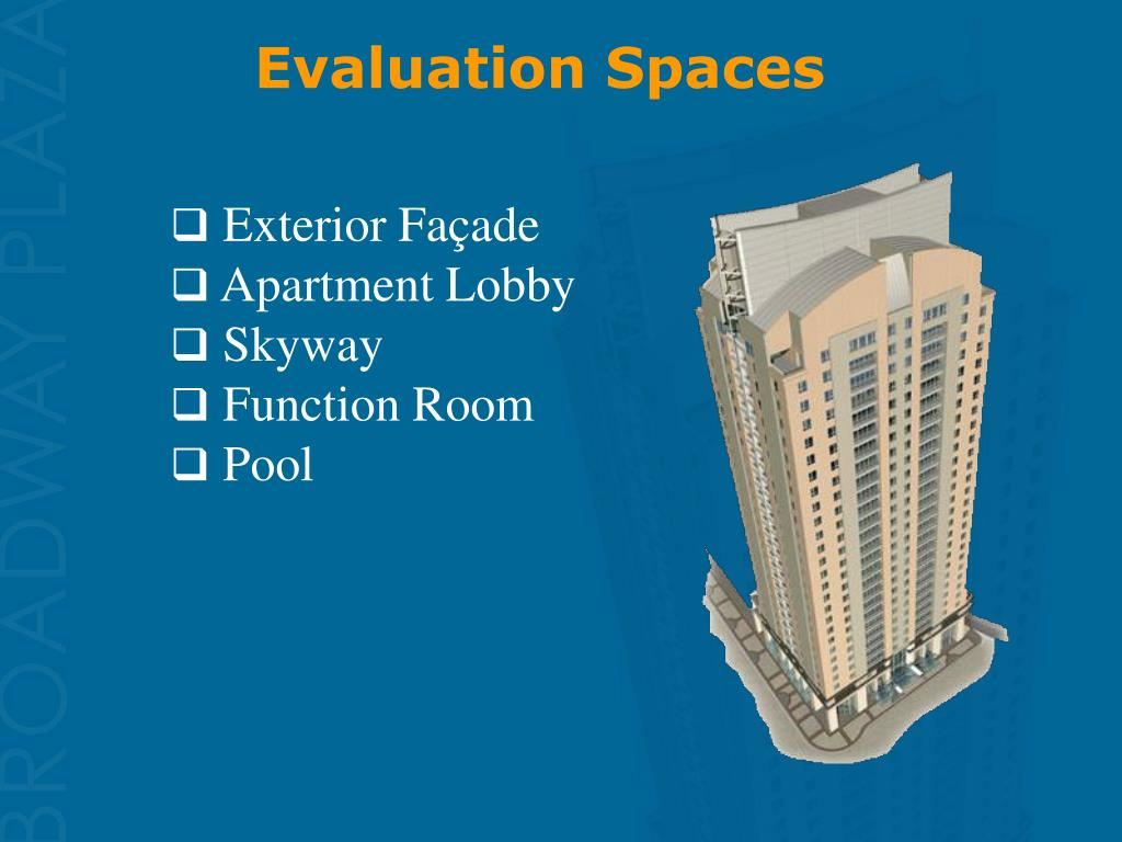 Evaluation Spaces