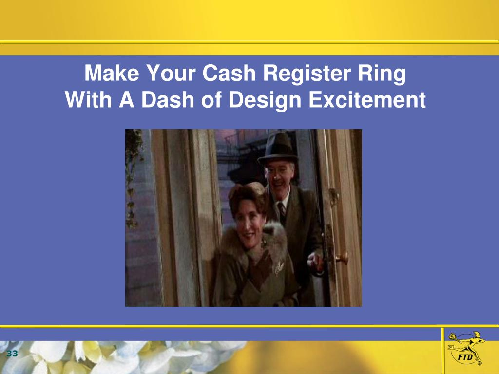 Make Your Cash Register Ring