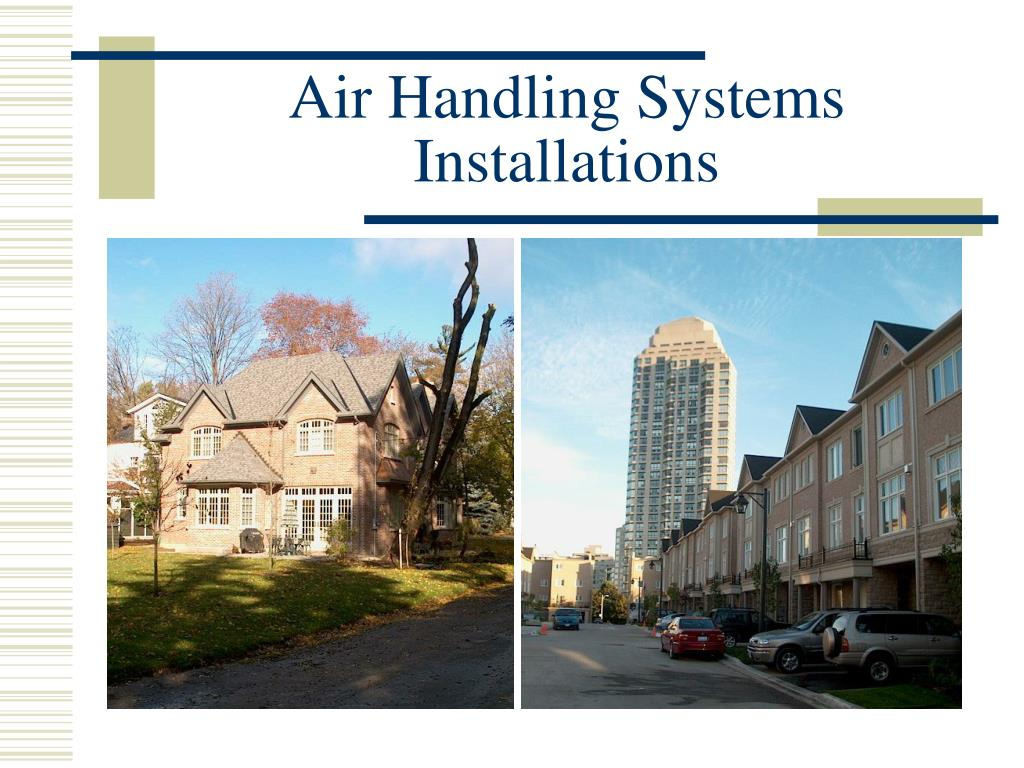 Air Handling Systems Installations