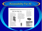 accessibility for all61