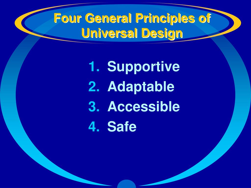 Four General Principles of