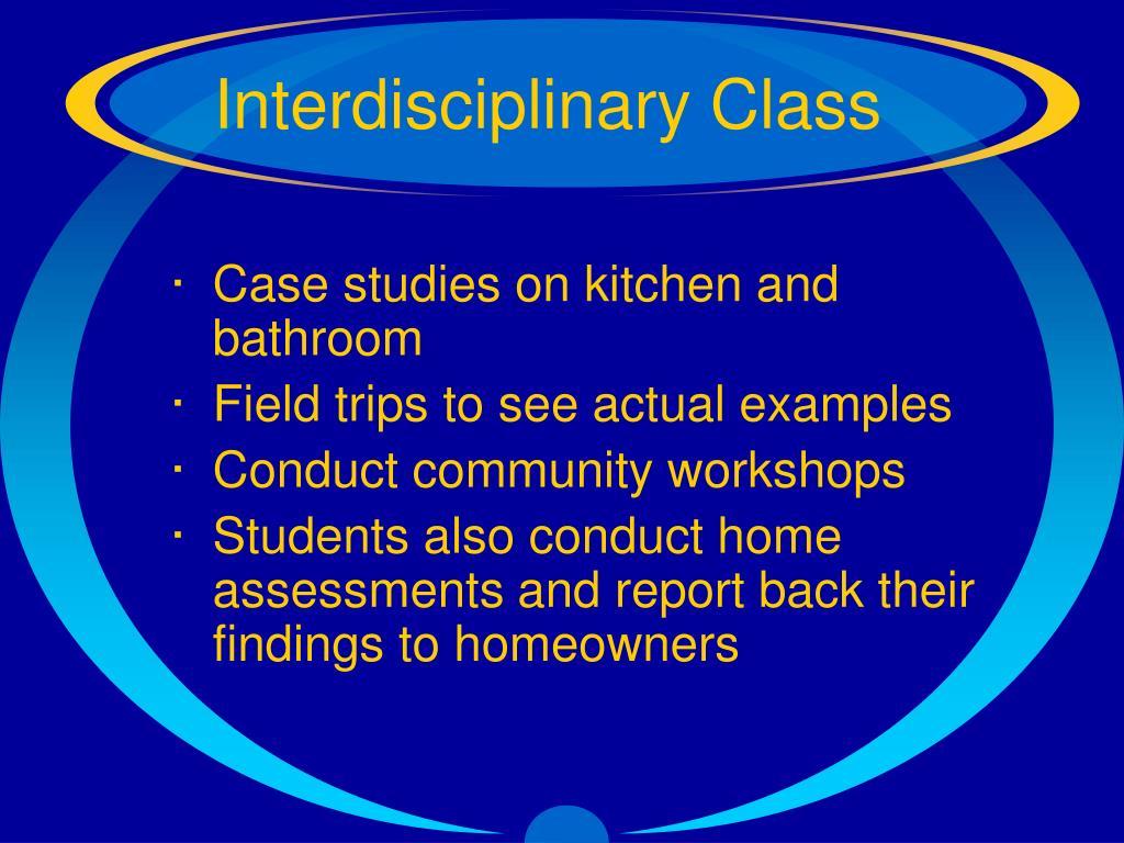 Interdisciplinary Class