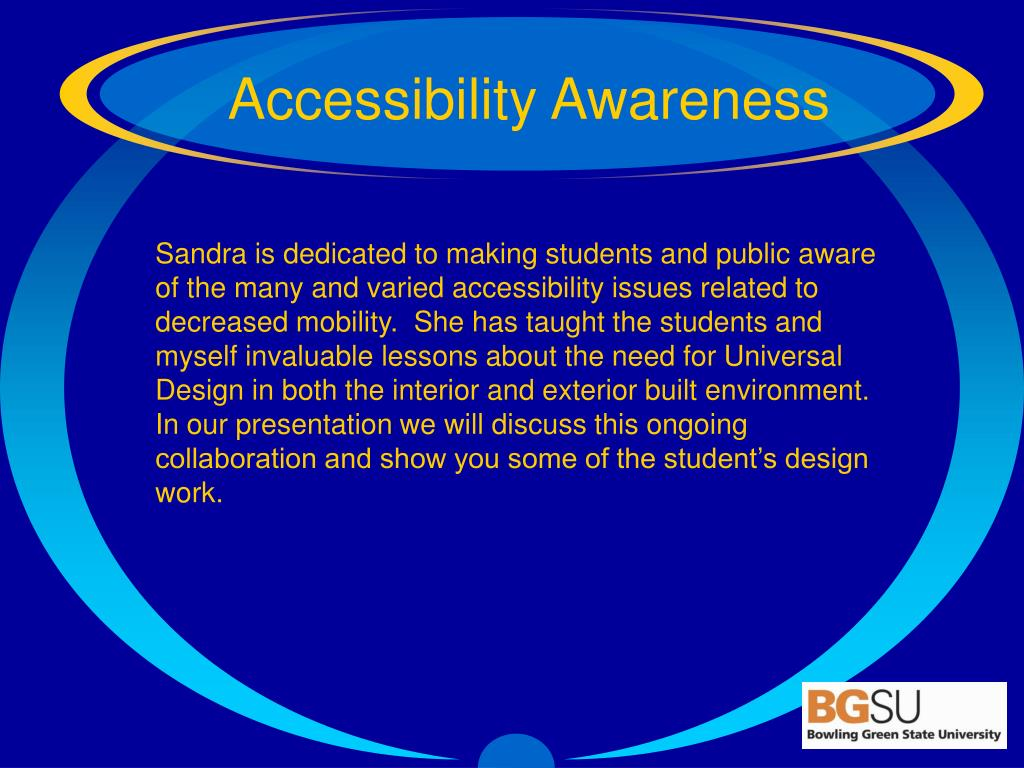 Accessibility Awareness