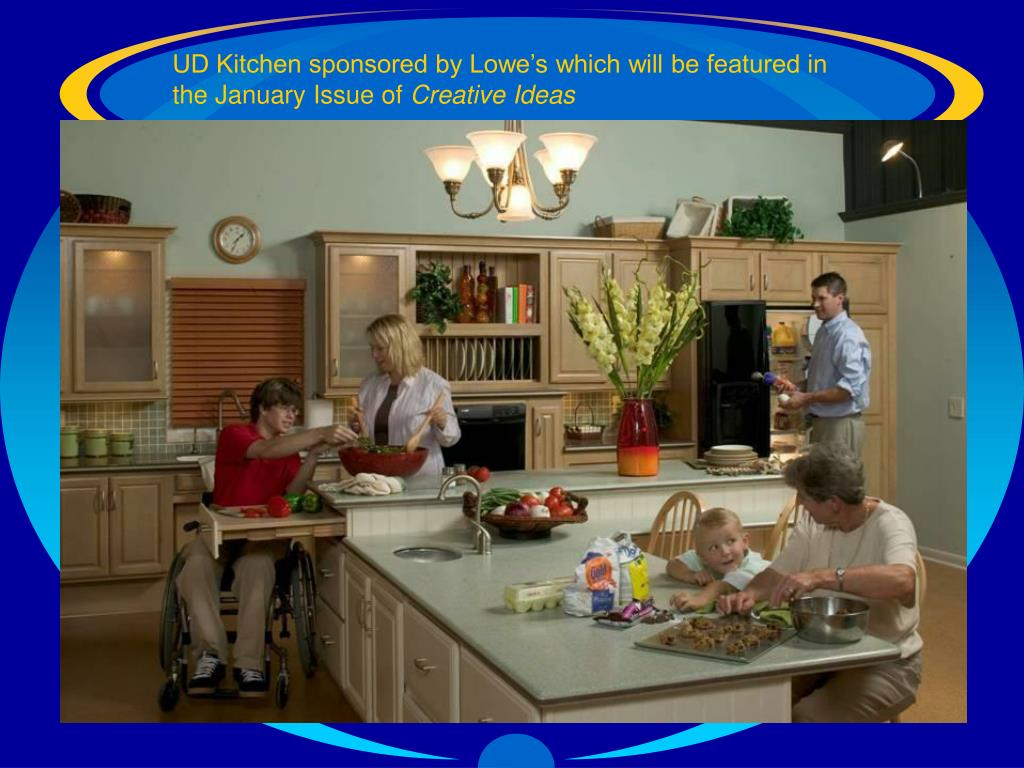 UD Kitchen sponsored by Lowe's which will be featured in the January Issue of
