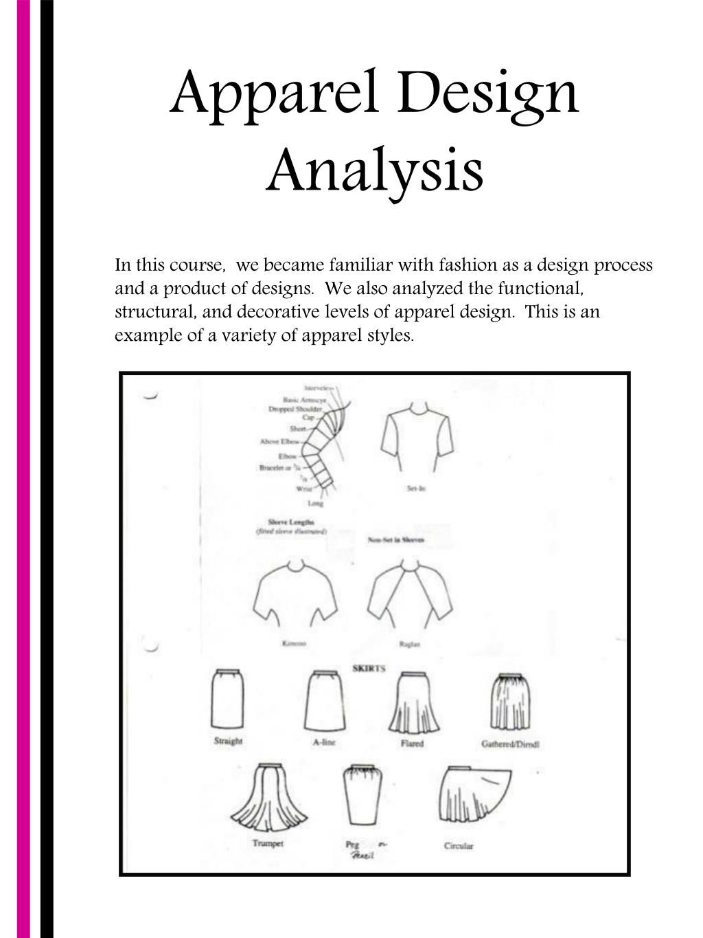 Apparel Design Analysis