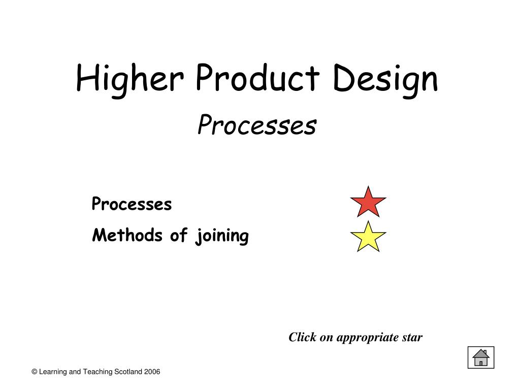 Higher Product Design