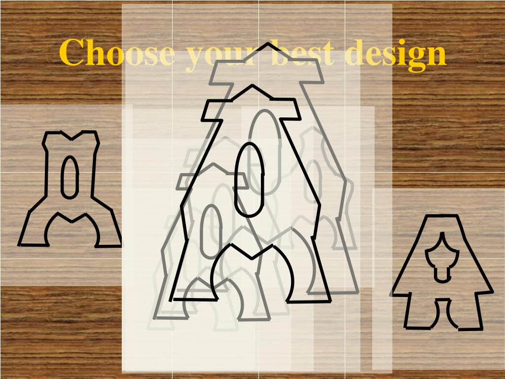 Choose your best design