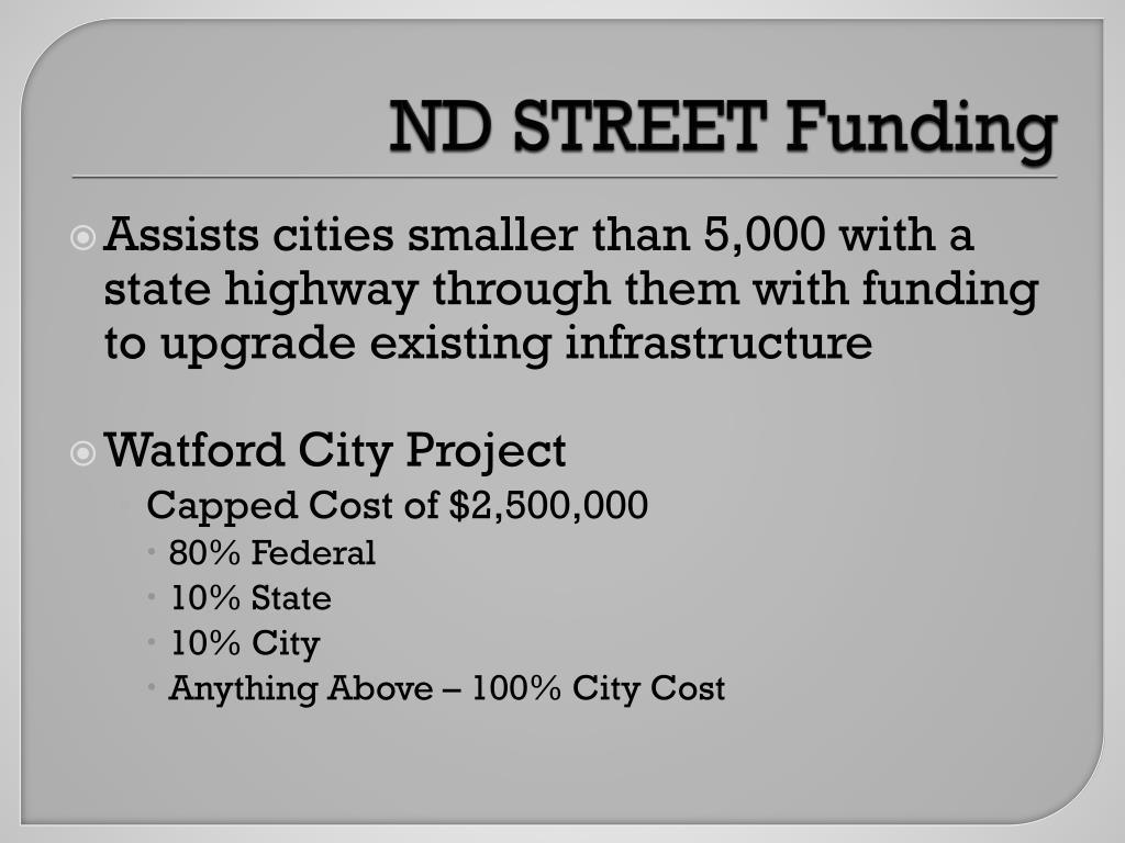ND STREET Funding
