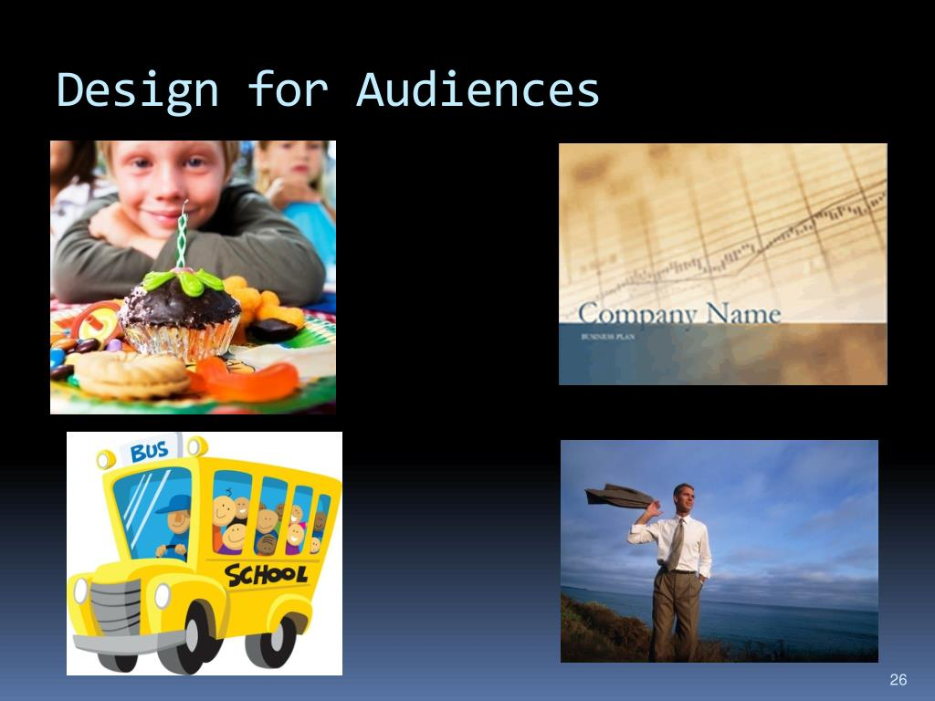 Design for Audiences