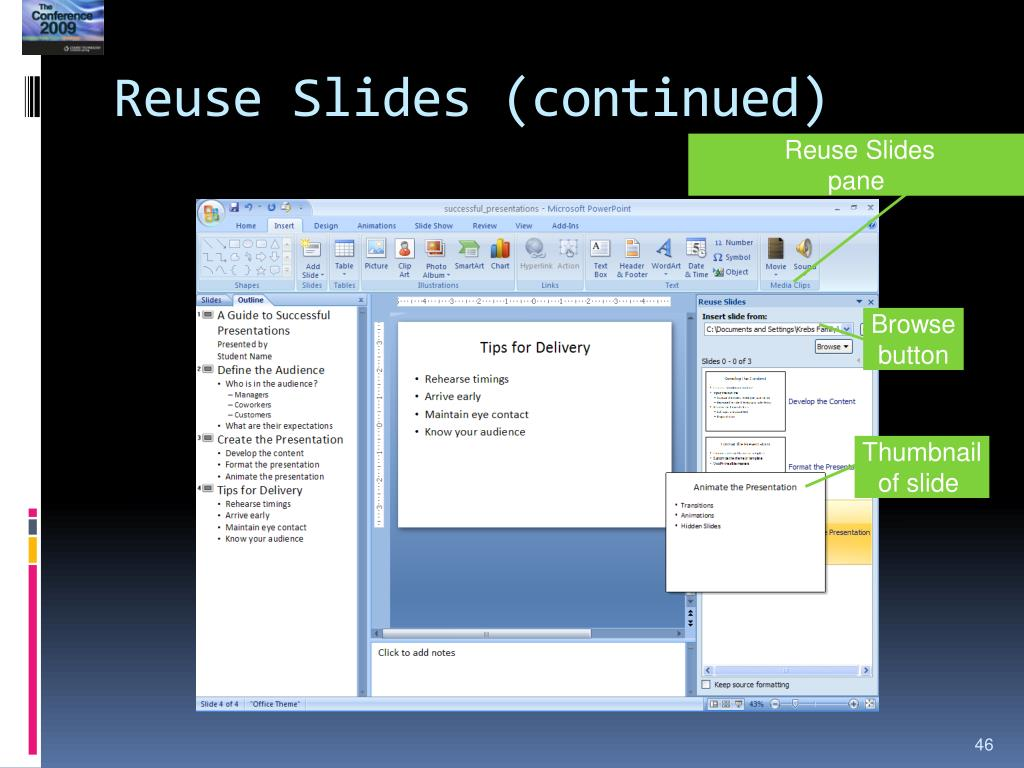 Reuse Slides (continued)