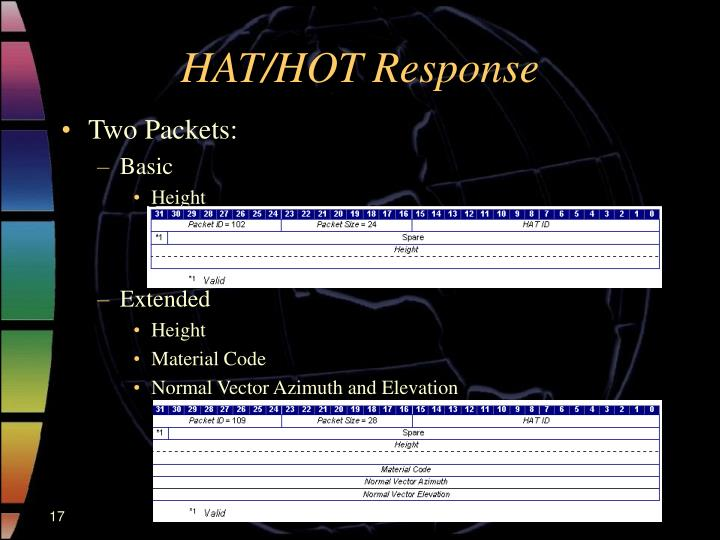 HAT/HOT Response