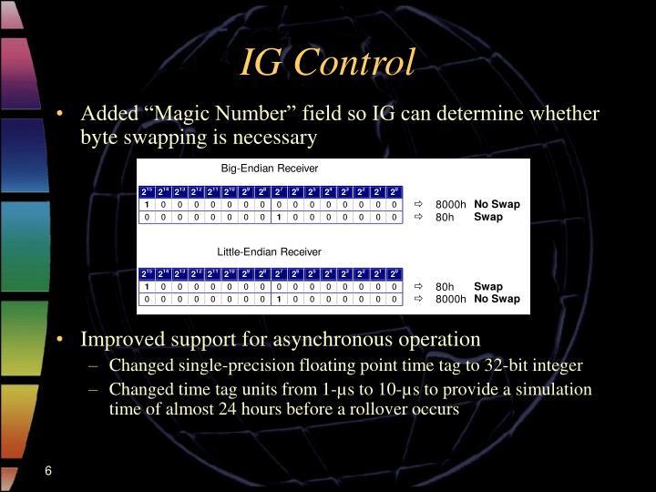 IG Control