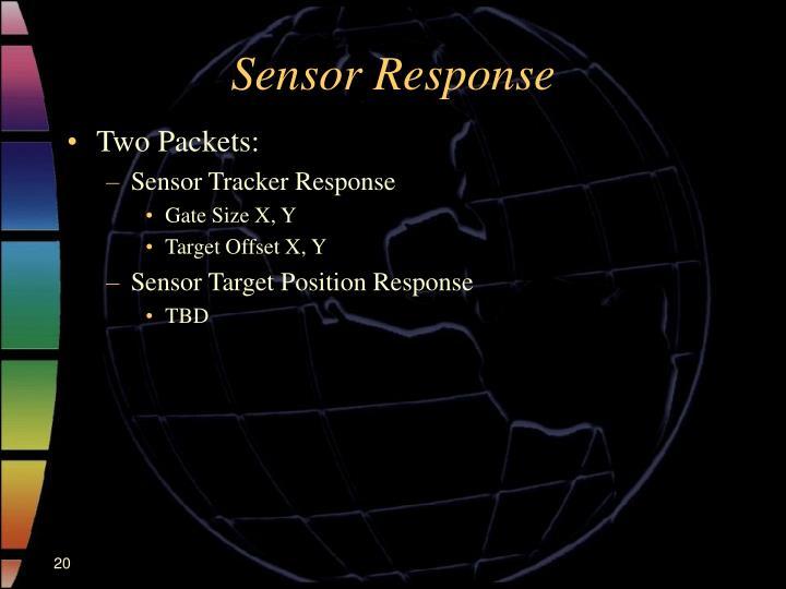 Sensor Response