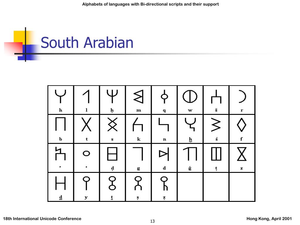 South Arabian