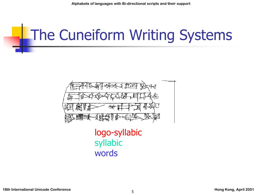 The Cuneiform Writing Systems