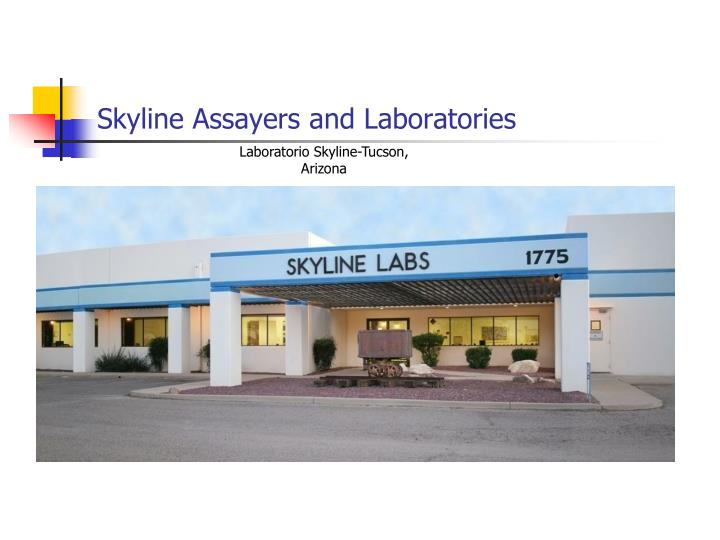 Skyline Assayers and Laboratories