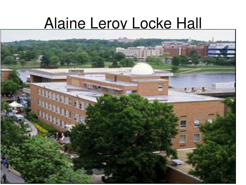 Alaine Leroy Locke Hall