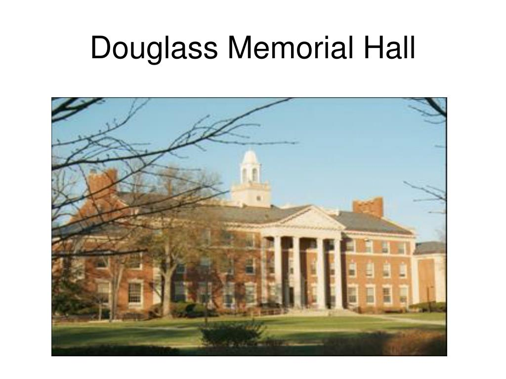 Douglass Memorial Hall