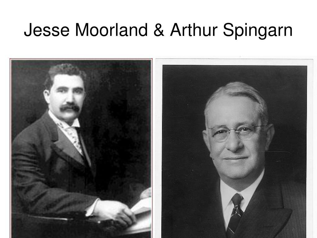 Jesse Moorland & Arthur Spingarn