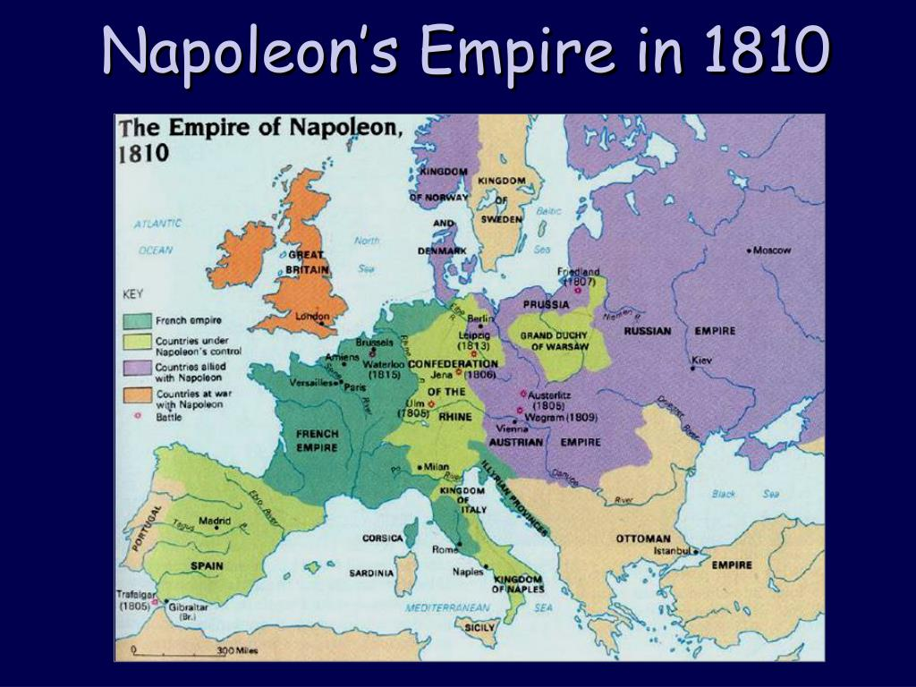 Napoleon's Empire in 1810