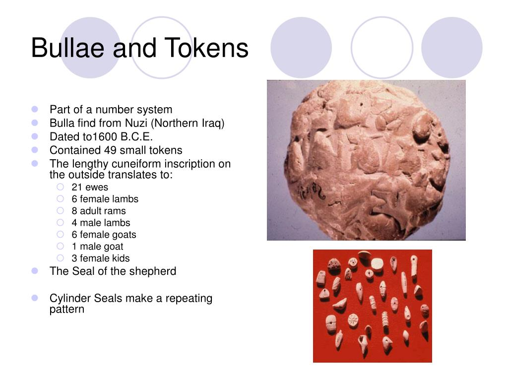 Bullae and Tokens
