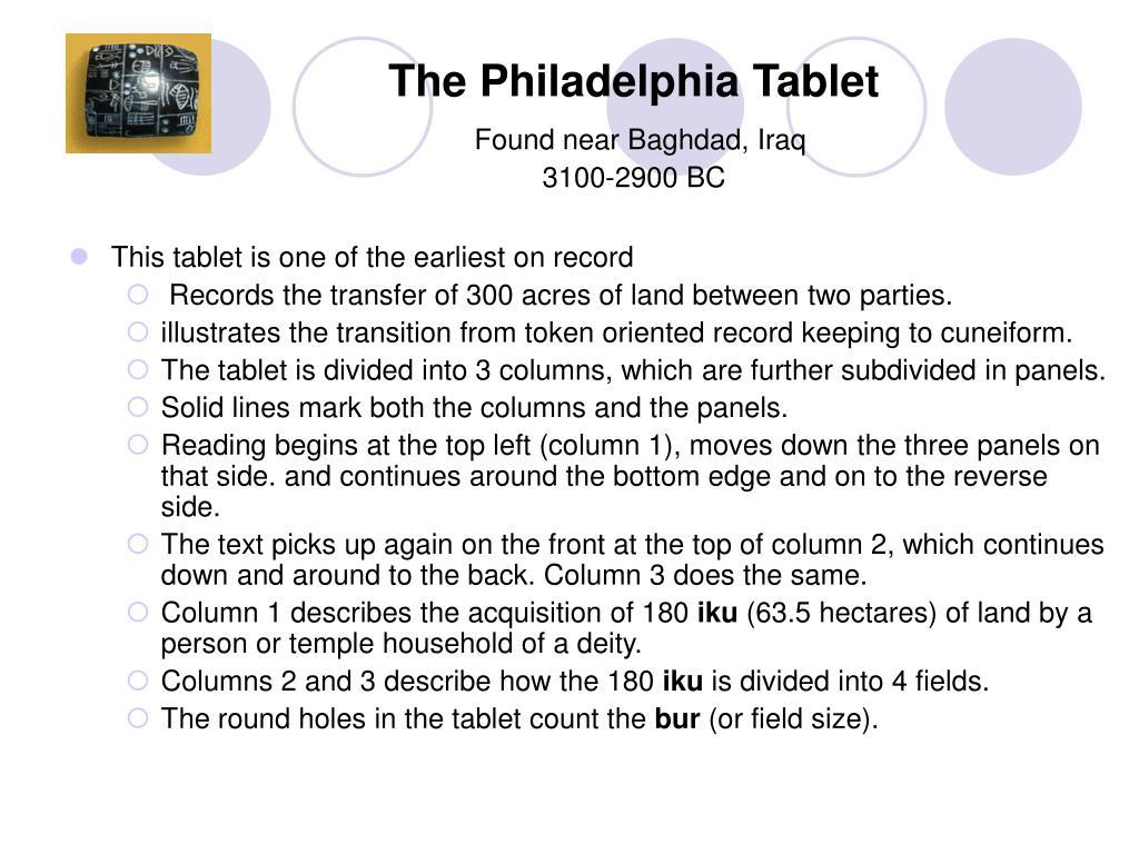 The Philadelphia Tablet