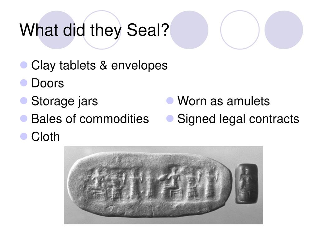 Clay tablets & envelopes