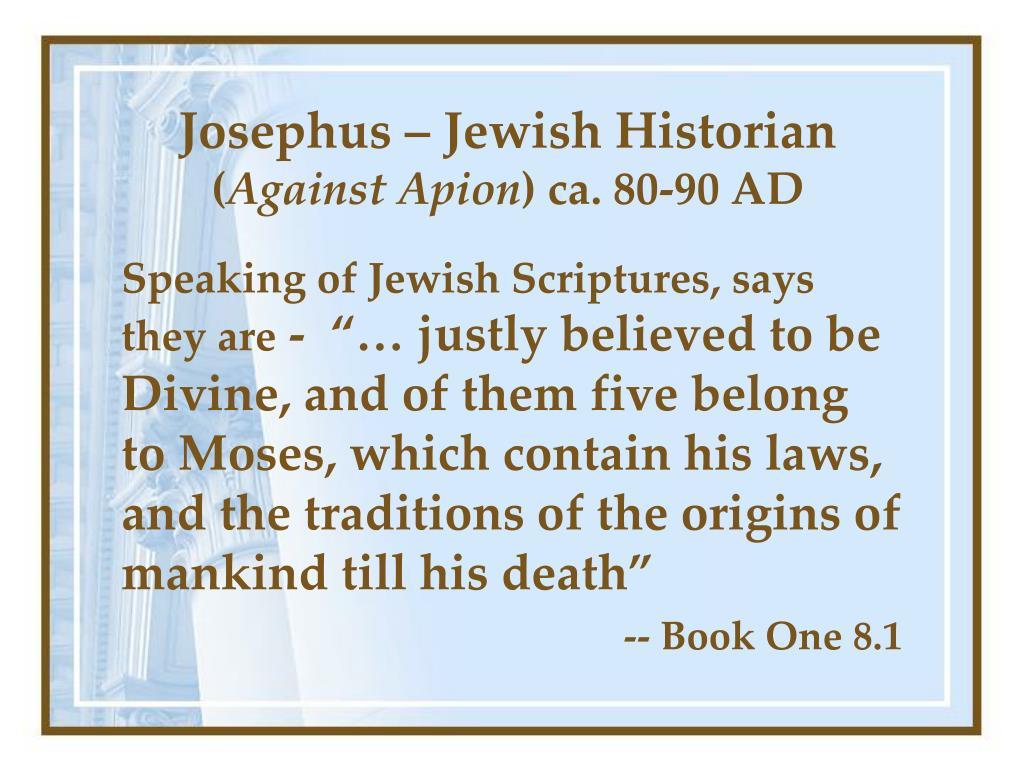 Josephus – Jewish Historian