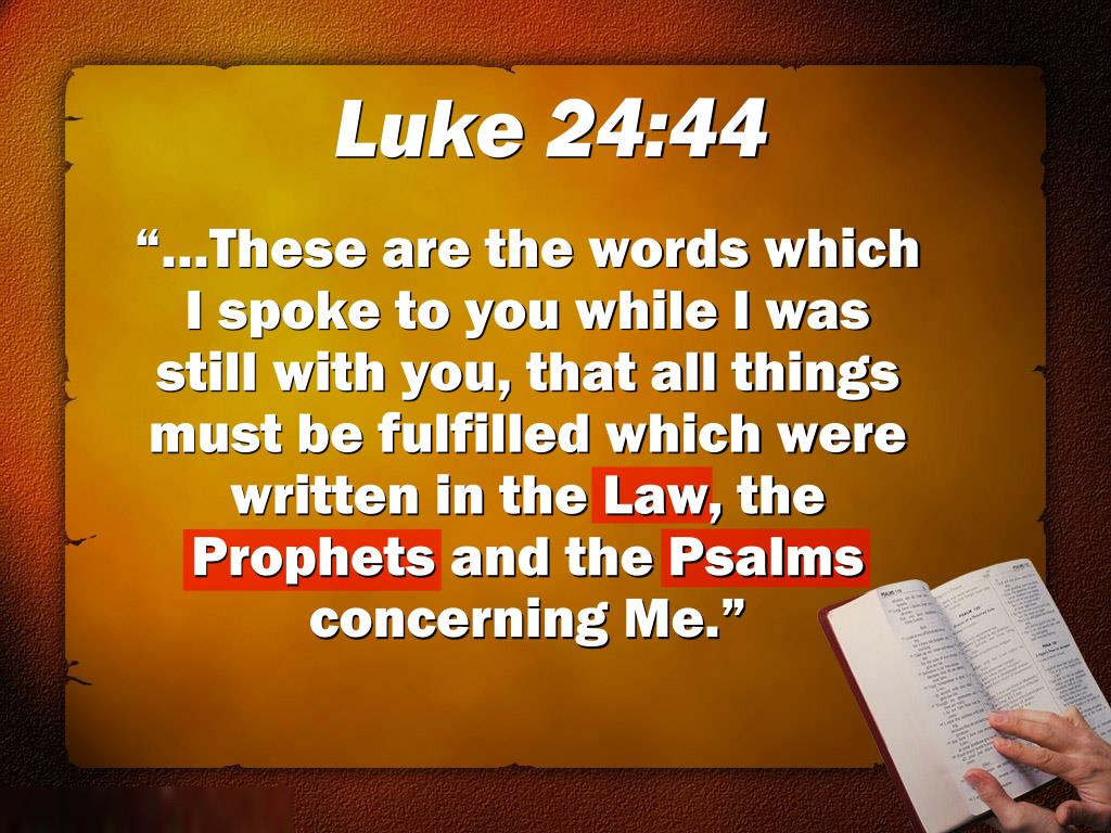 Luke 24:44
