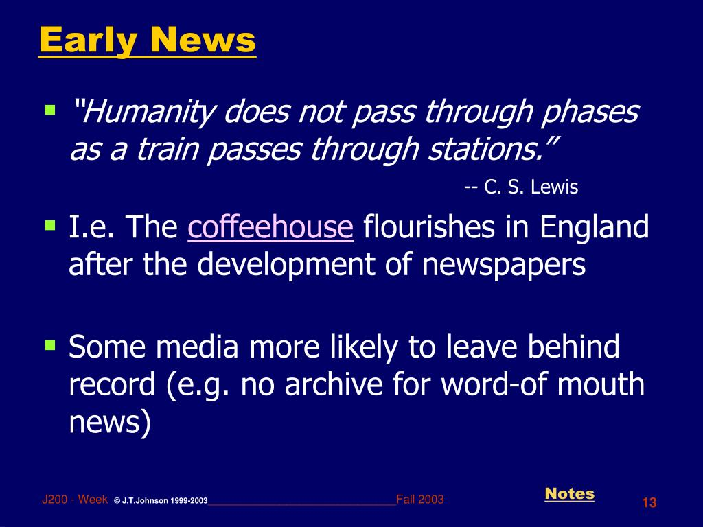 Early News