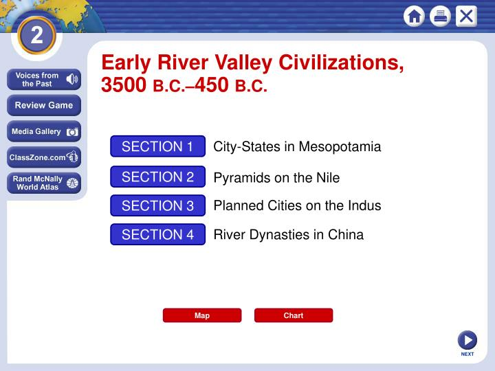 Early River Valley Civilizations,