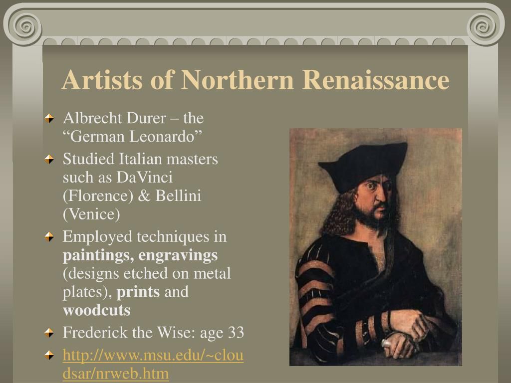 Artists of Northern Renaissance