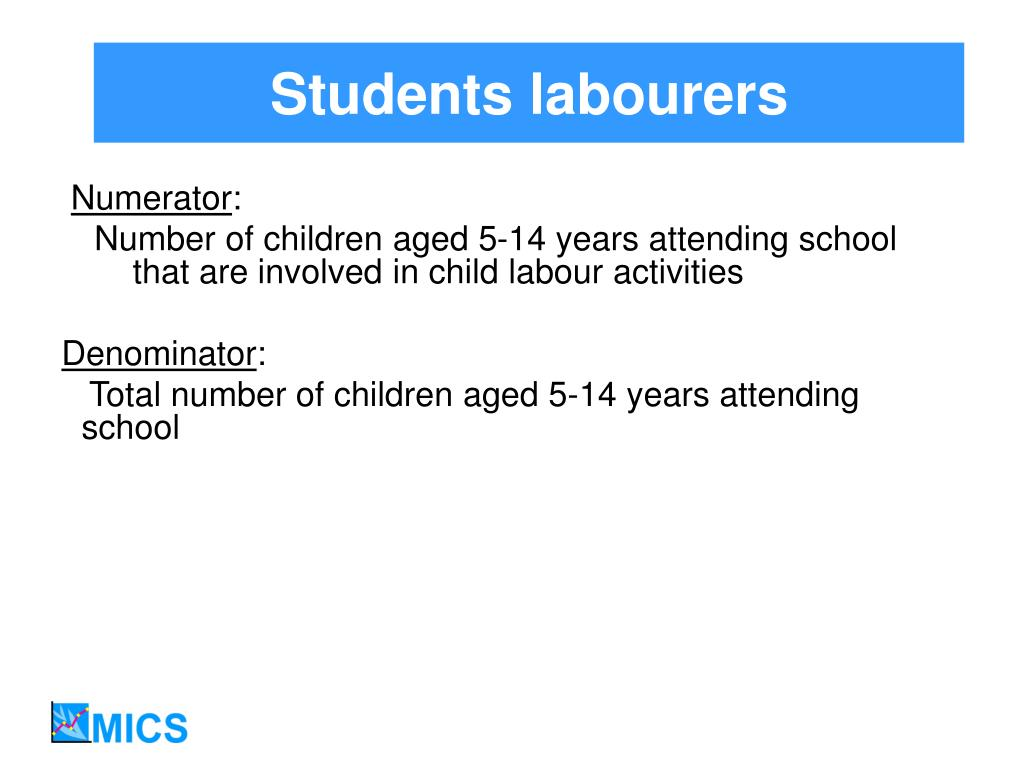 Students labourers