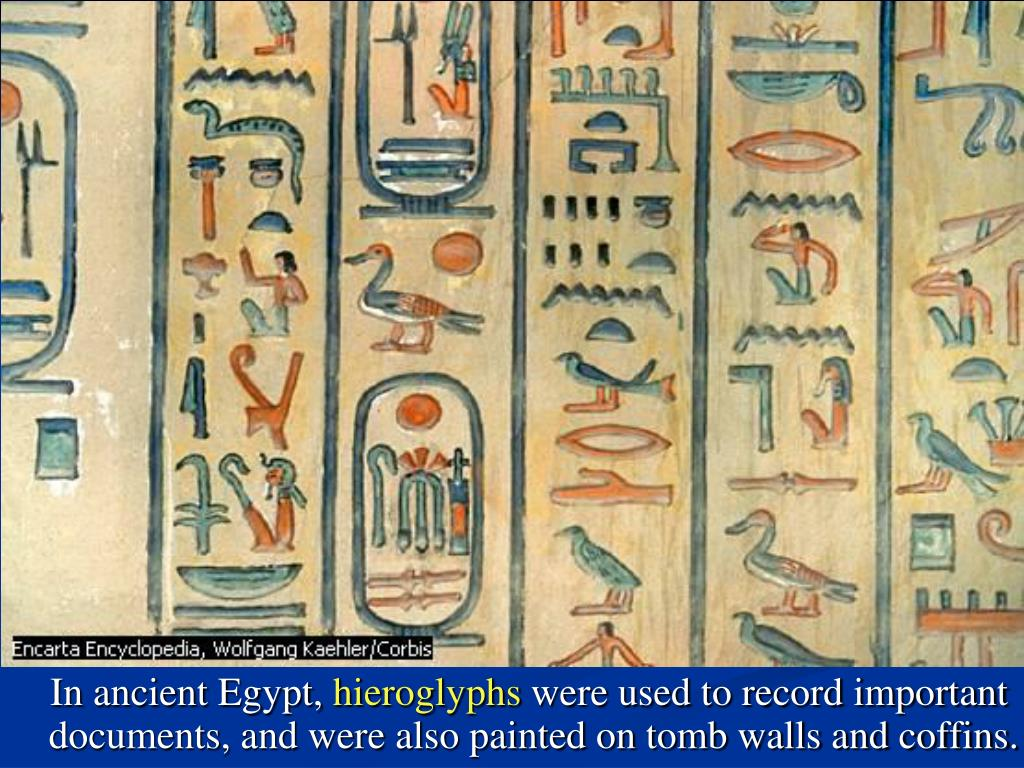 In ancient Egypt,