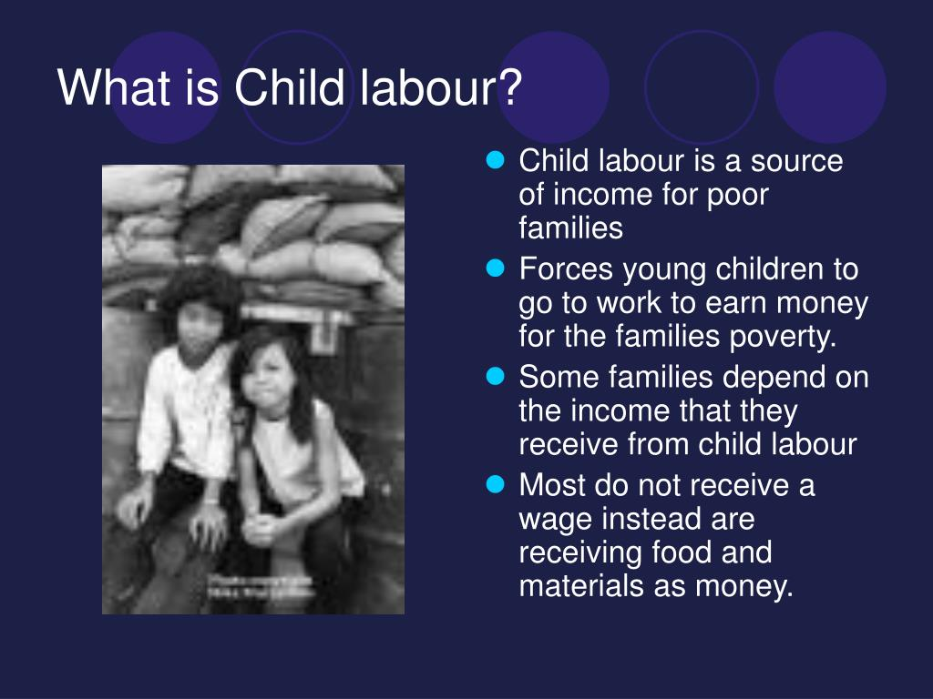What is Child labour?