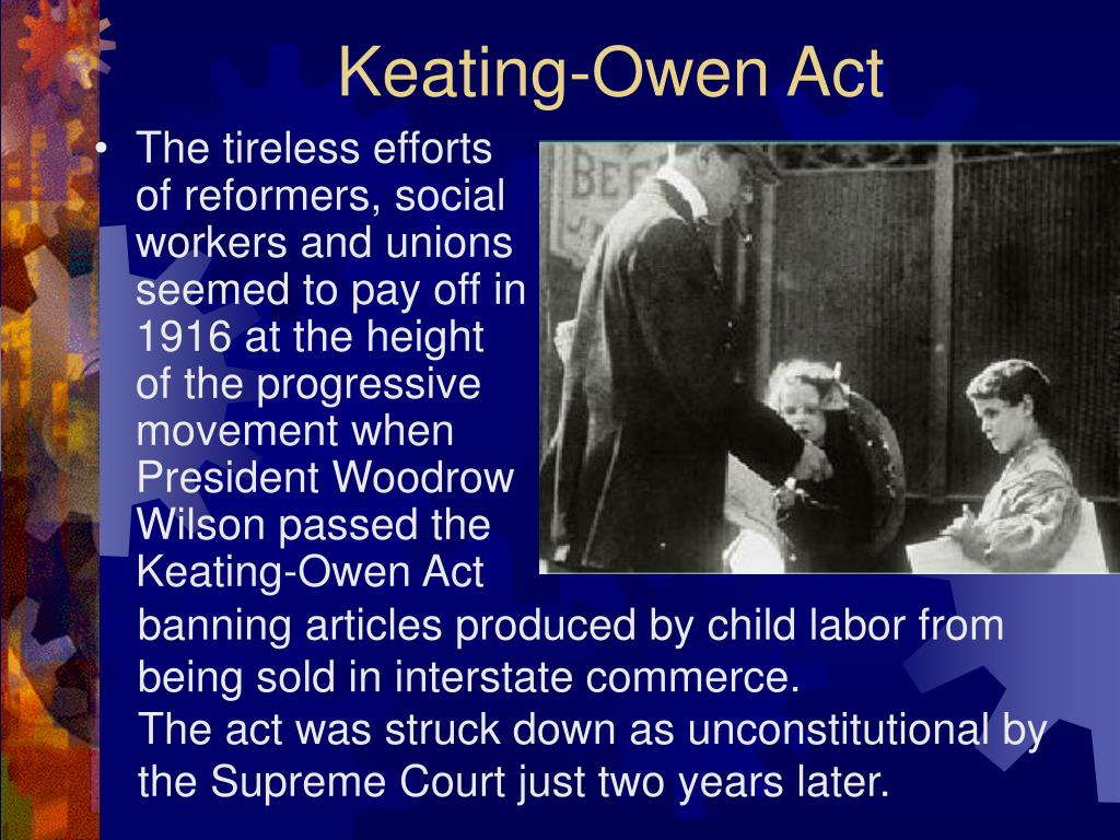 Keating-Owen Act