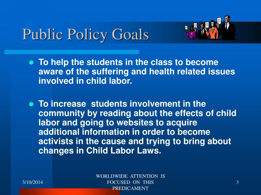 Public Policy Goals