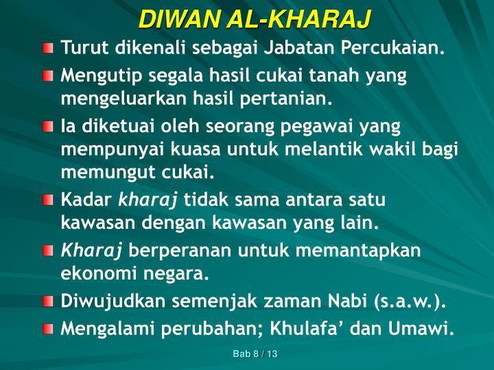DIWAN AL-KHARAJ