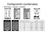 configuraci n coordenadas