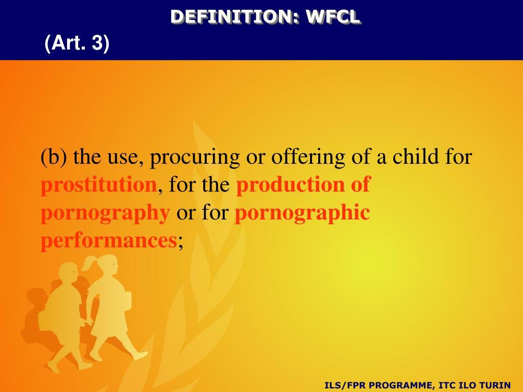 DEFINITION: WFCL